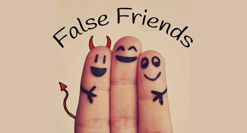 false friends o falsos amigos para aprender ingles en clases de ingles en berja