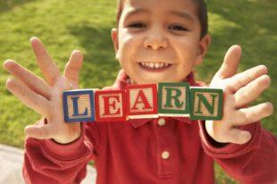 Preschool boy LEARN