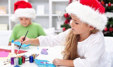 Niños aprender ingles navidad almeria